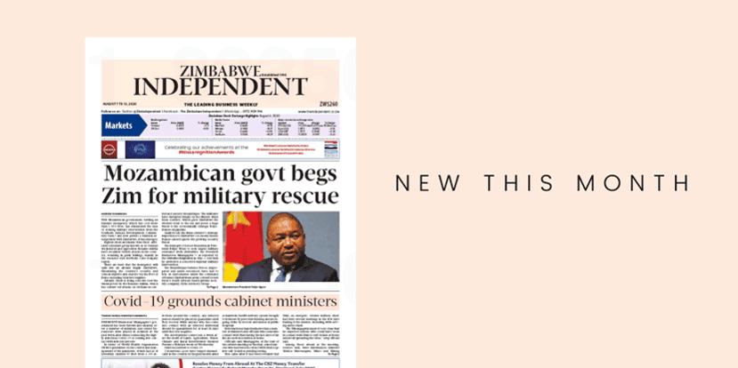 Zimbabwe Independent magazine cover