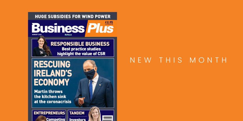 Business Plus magazine cover