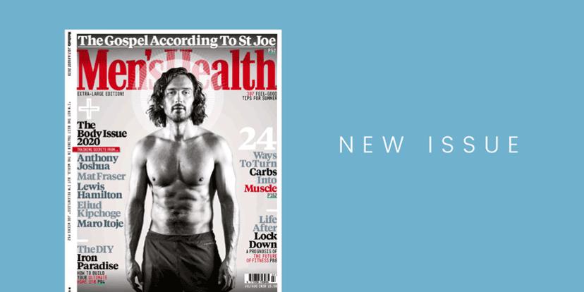 Men's Health UK magazine cover