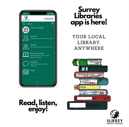 Surry Libraries app image