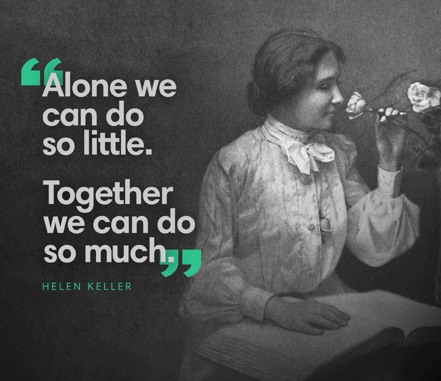 Goodwill - Hellen Keller