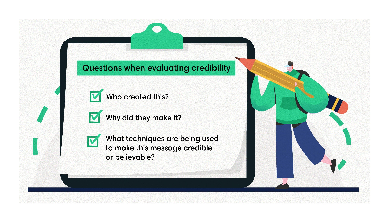 Checklist for credibility