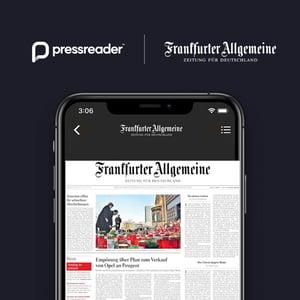 FAZ + PressReader