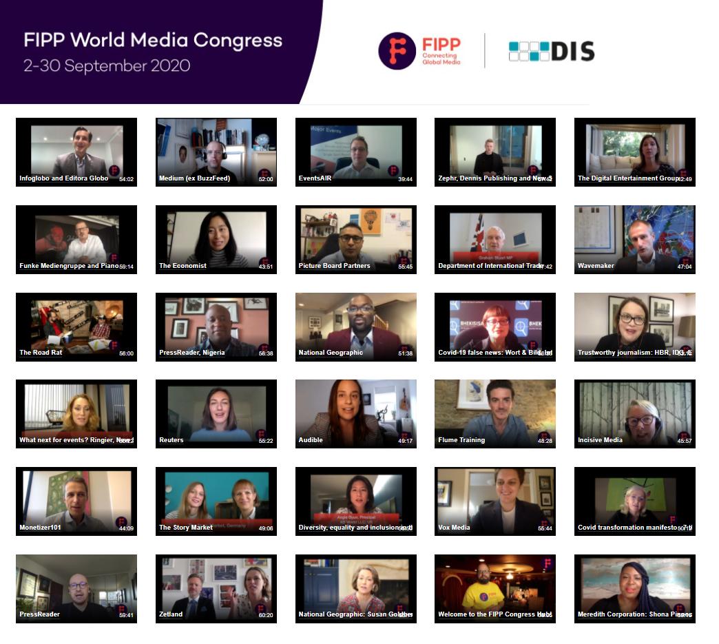 FIPP World Media Congress 2020