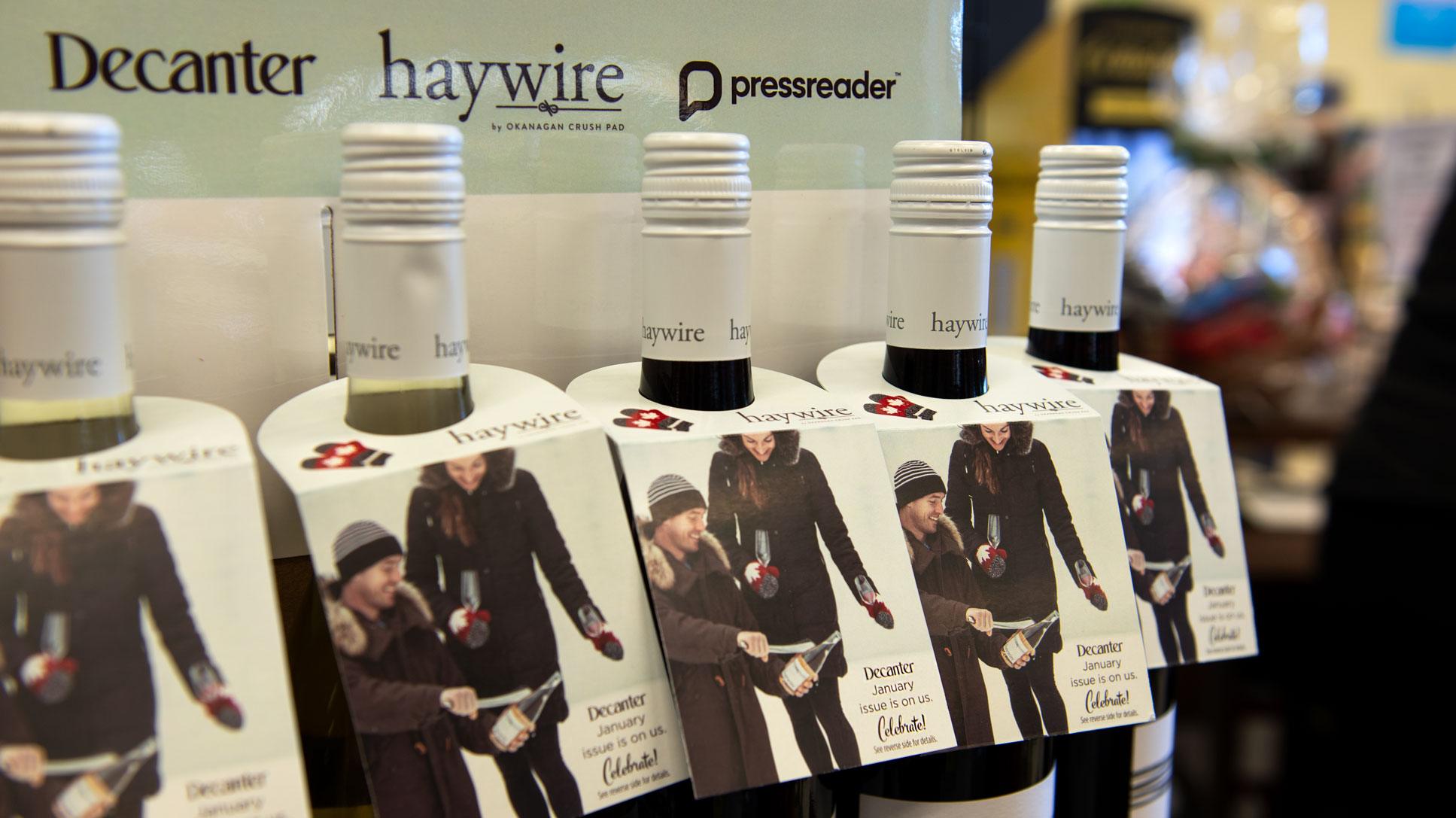 Haywire Wines at the store