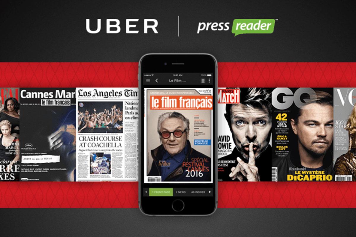 PressReader app on devices