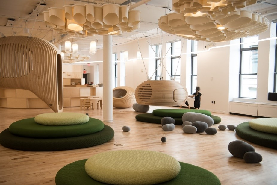 Co-working spaces: a classroom and curriculum designed with kids in mind at WeGrow