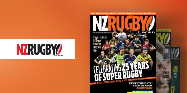 NZ Rugby World Magazine  on PressReader