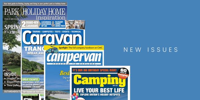 Park & Holiday Home Inspiration-Caravan-Campervan-Camping