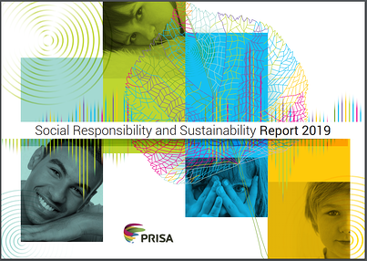 Prisa social responsibility and sustainability report 2019