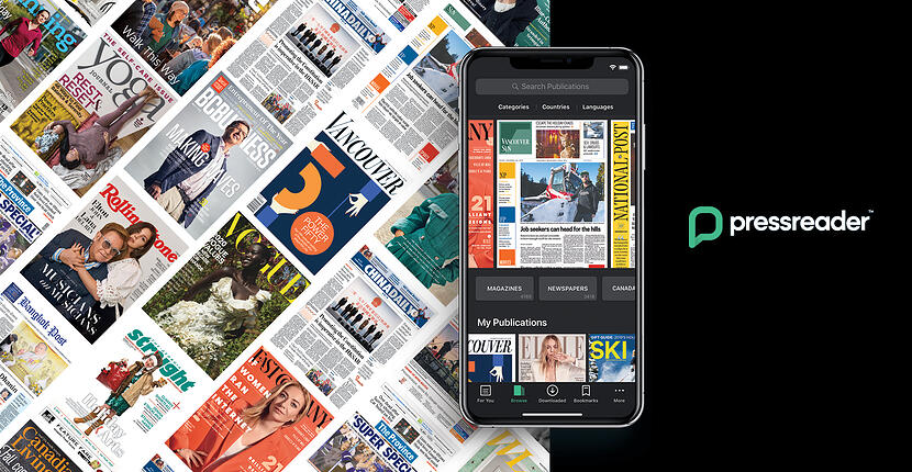 PressReader campaign on Star Metro