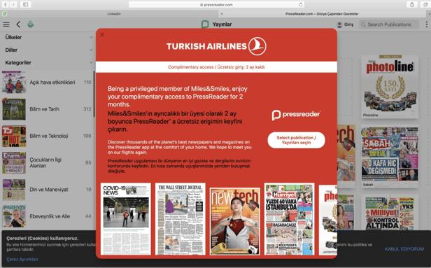 Turkish Airlines Dashboard