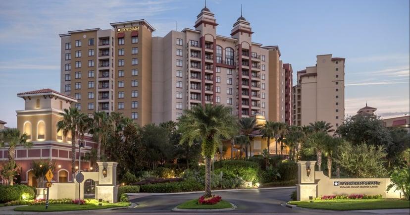 Wyndham Grand Orlando Resort Bonnet Creek Entrance