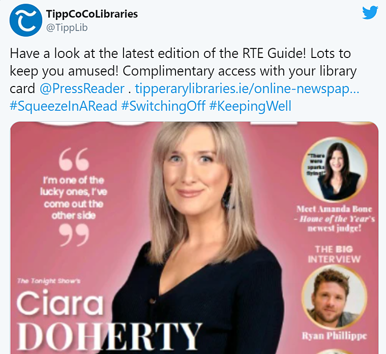 lipperary-libraries-promoting-pressreader