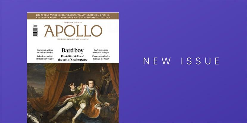 What to read: Apollo magazine on PressReader (December 2020)