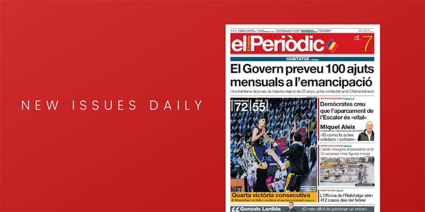 What to read: El Periòdic D'Andorra newspaper on PressReader (December 2020)