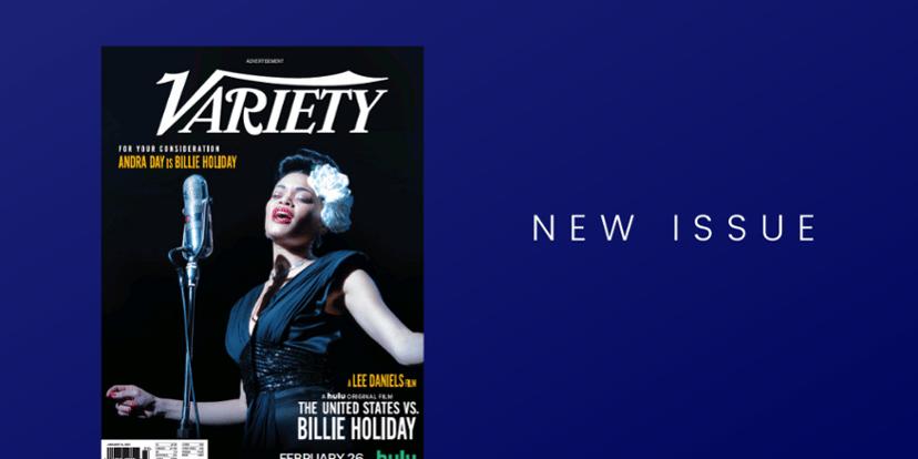 Read Variety magazine on PressReader