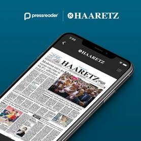 Haaretz joins PressReader's growing catalog of international newspapers