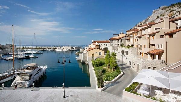 The beautiful northeast coast Trieste